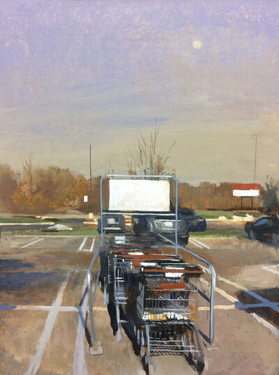 Andrew Haines, 'Cart Return', 2019
