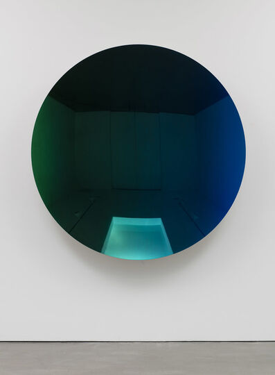 Anish Kapoor, 'Mirror (Organic Green to Oriental Blue)', 2016
