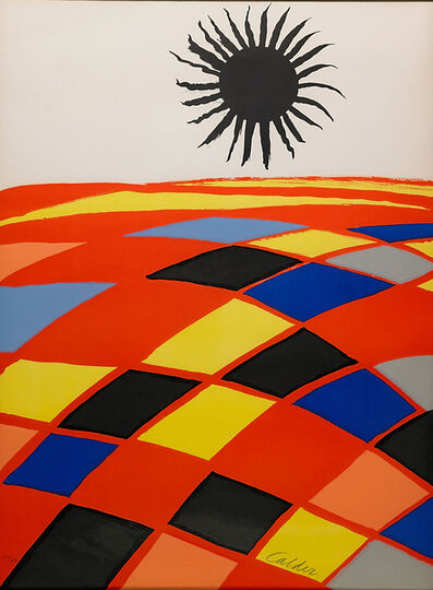 Alexander Calder, 'Untitled (Black Sun)'