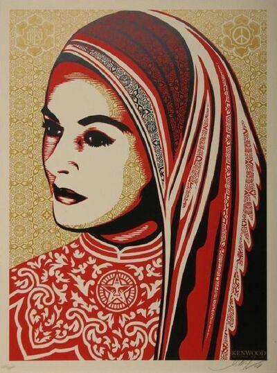 Shepard Fairey, 'Peace Women Kenwood Vineyards Edition', 2009