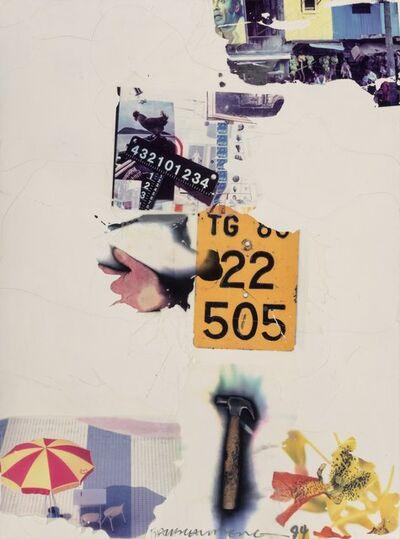 Robert Rauschenberg, 'Count (Shales)', 1994