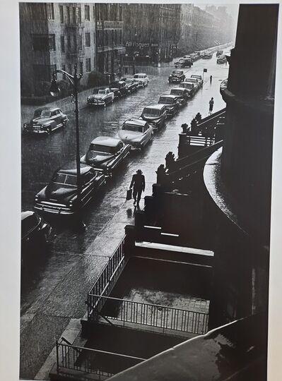 Ruth Orkin, 'Man in the Rain', 1958