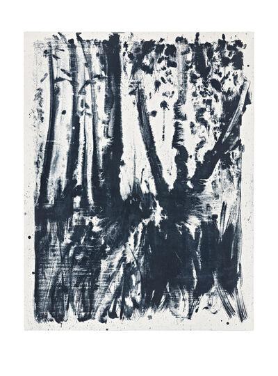Shinro Ohtake, 'Indigo Forest 5', 2015