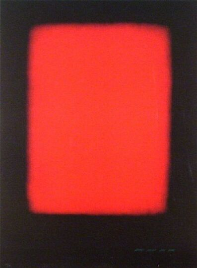Eric Orr, 'Without Red', 1989