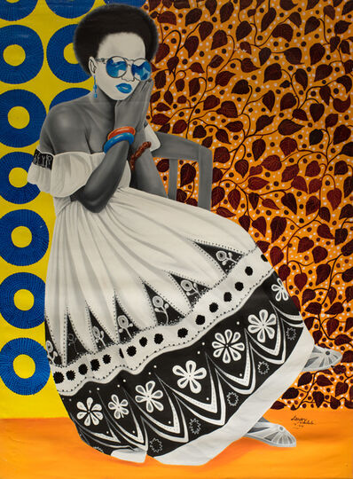 Mulala Landry, 'Albinos noir [Black Albino]', 2017