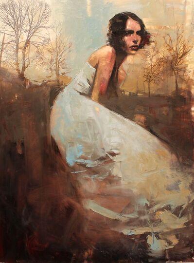 "Michael Carson, '""Sticks & Blue Dress""', 2019"