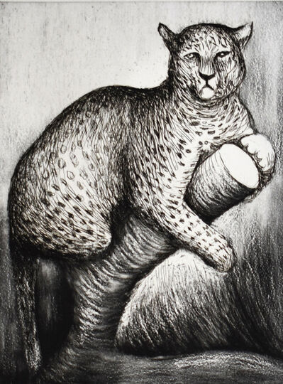 Henry Moore, 'Leopard', 1981/82