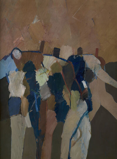 Keith Vaughan, 'Archers from the Martyrdom of St Sebastian', 1964