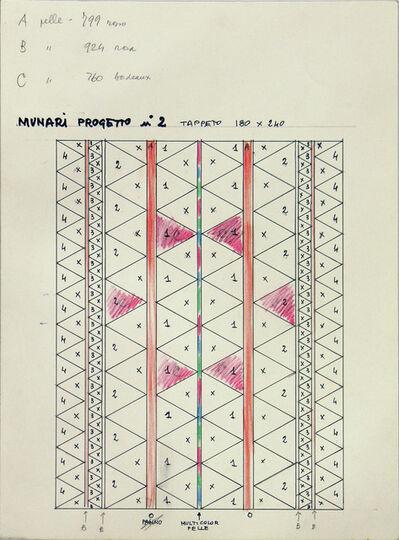 Bruno Munari, 'BOZZETTI', 1984