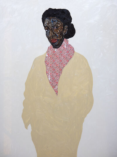 Amoako Boafo, 'Buff Titanium Coat', 2019
