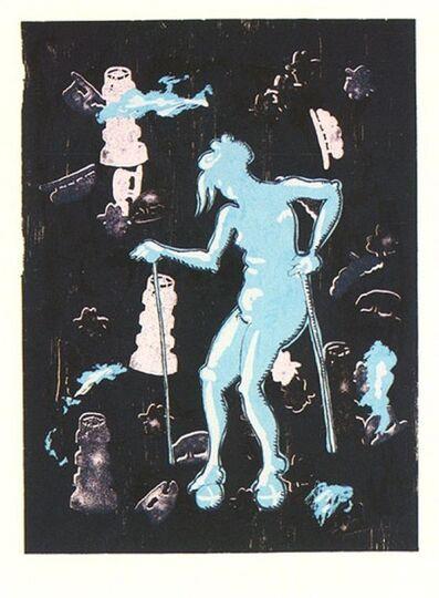 Jörg Immendorff, 'Dialog - Gertrude', 2001
