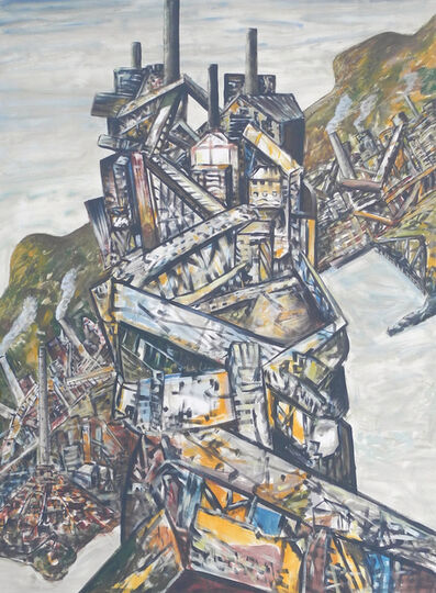 Jan Senbergs, 'Kembla Icon', 2000