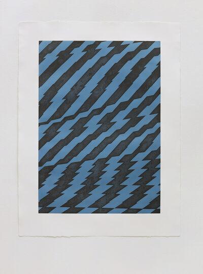 Richard Deacon, 'Blackfriars Blue', 2012