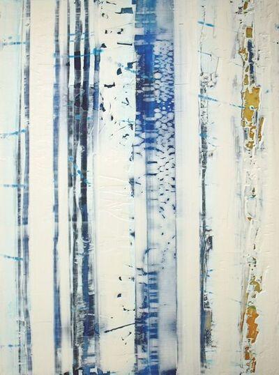 Greg Ragland, 'Parallel Layers 8, Blue', 2018