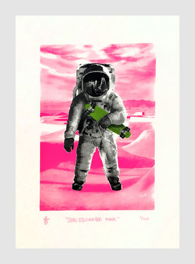 T8, 'Spaceboarder (Pink)', 2021
