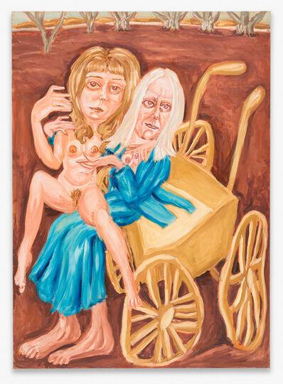 Michael Horsky, 'Patti Smith und Robert Mapplethorpe', 2020