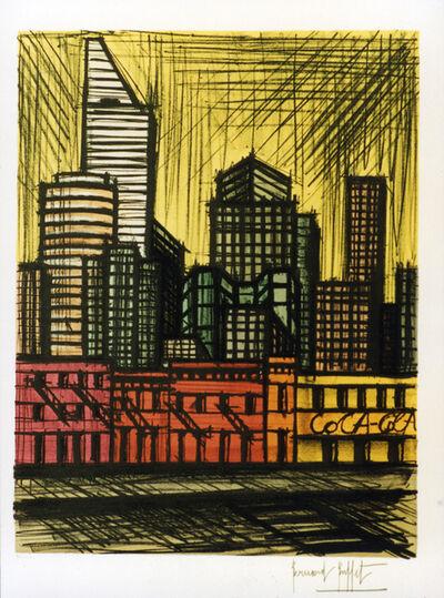 Bernard Buffet, 'New York, Citicorp Building', 1990