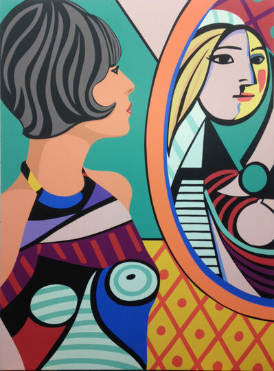 James Wolanin, 'Girl Before A Mirror (Picasso)', 2020