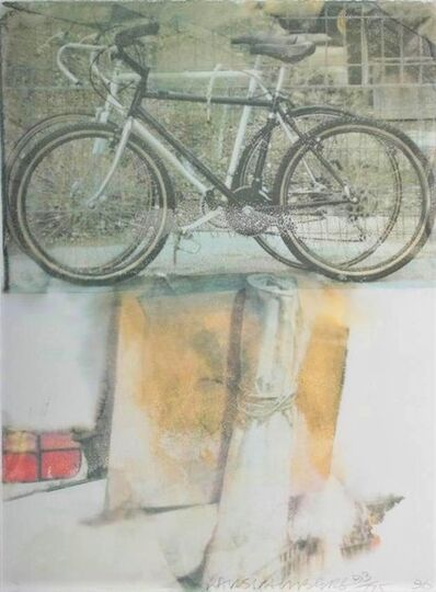Robert Rauschenberg, 'Untitled (Two Bicycles)', 1996