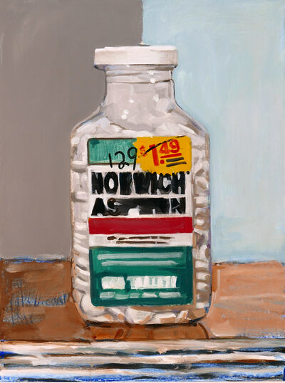 Walter Robinson, 'Norwich Aspirin', 2018