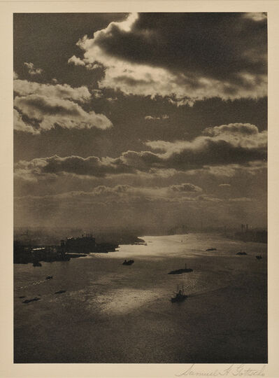 Samuel Gottscho, 'View of the East River, Looking South, New York City', 1920s-30s