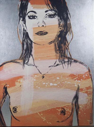David Bromley, 'Belinda in Silver', ca. 2008