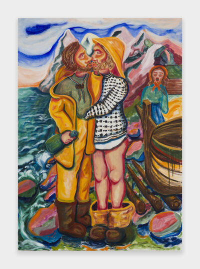 Audar Kantun, 'Kysset (The kiss)', 2019