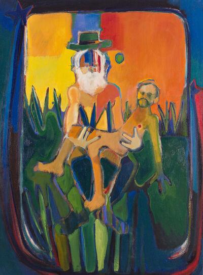 John Ransom Phillips, 'Walt Whitman Holding Mathew Brady', 2005