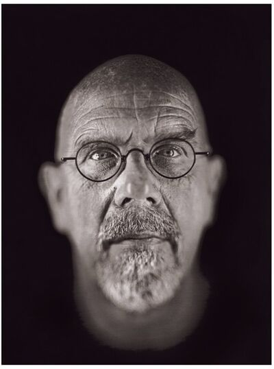 Chuck Close, 'Self Portrait III', 2002