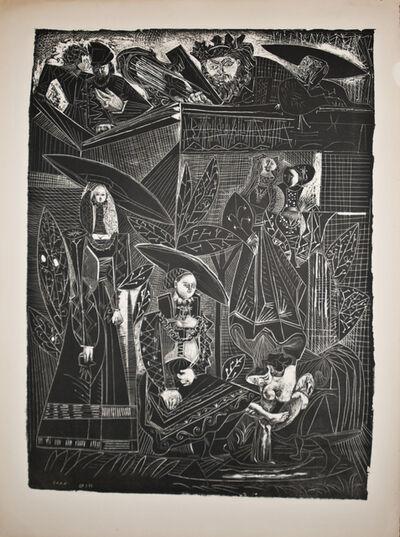 Pablo Picasso, 'David et Bethsabée', 1949