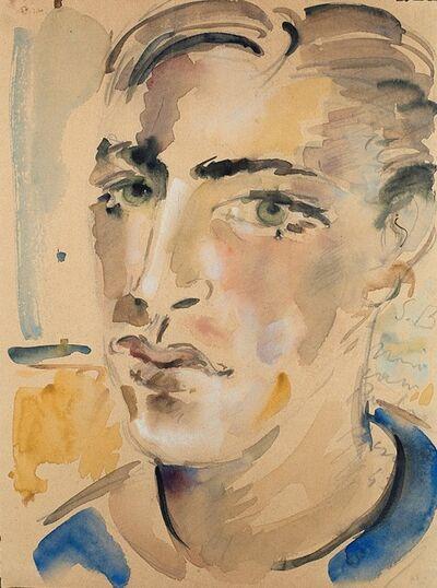Filippo De Pisis, 'Ritratto di giovane', 1943