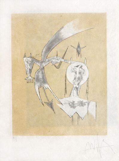 Wifredo Lam, 'De Sceve a Diane ', 1975