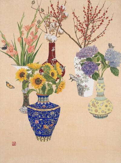 Lee Jung Eun (b. 1971), 'Vases 저마다', 2016