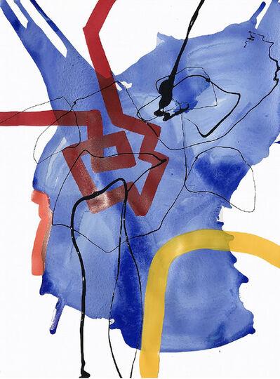 Maria José Benvenuto, 'Blue Stain', 2019