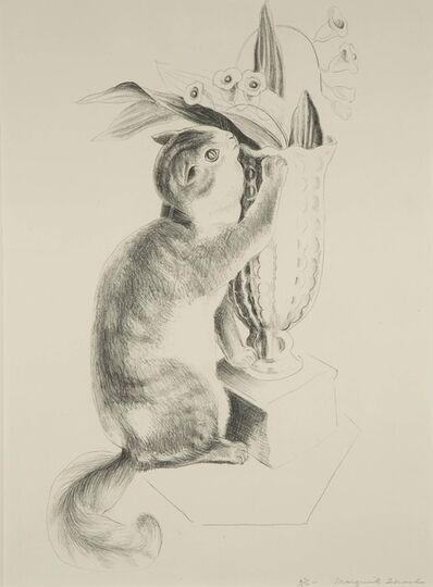 Marguerite Zorach, 'Tooky (Cat with Vase), 17/50'