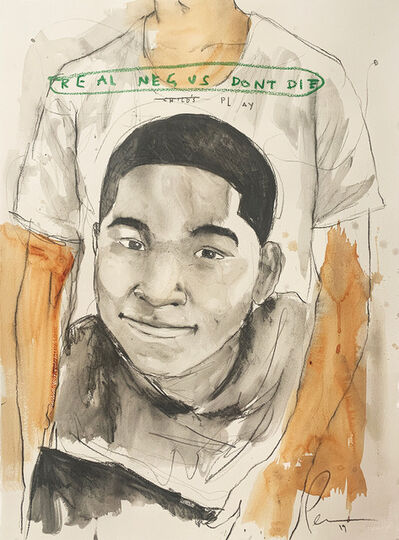 Fahamu Pecou, 'REAL NEGUS DON'T DIE: Child's Play (Tamir Rice)', 2019