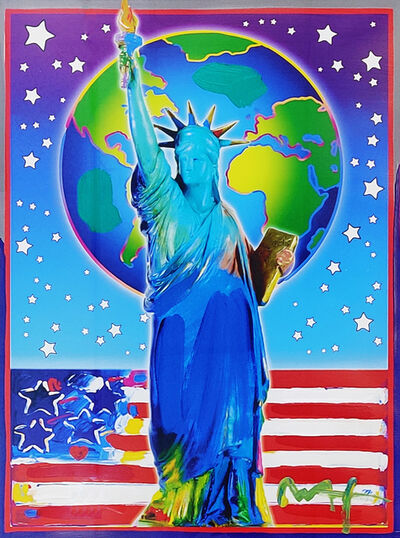 Peter Max, 'PEACE ON EARTH II', 2001