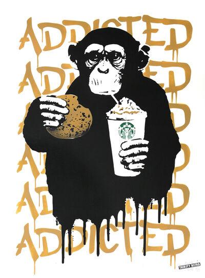 Thirsty Bstrd, 'Fast Food Monkey – Starbucks Beige', 2016