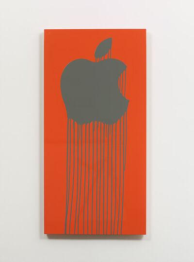 Zevs, 'Liquidated Apple - Orange', 2013
