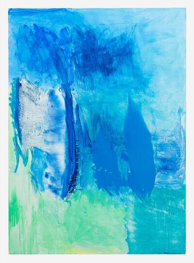 Emily Mason, 'Blue Flag', 2014