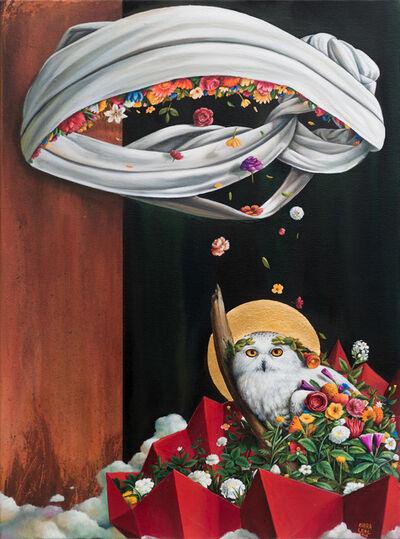 Alejandro Rivera, 'Owl (White Slumber)', 2018