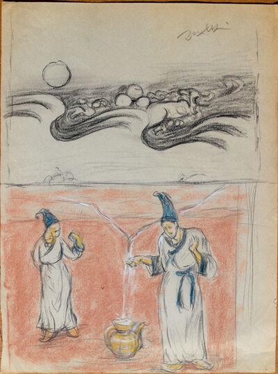 Pei Zhuangxin, 'Sketch ⼿稿《靜態的圖像》', 2012