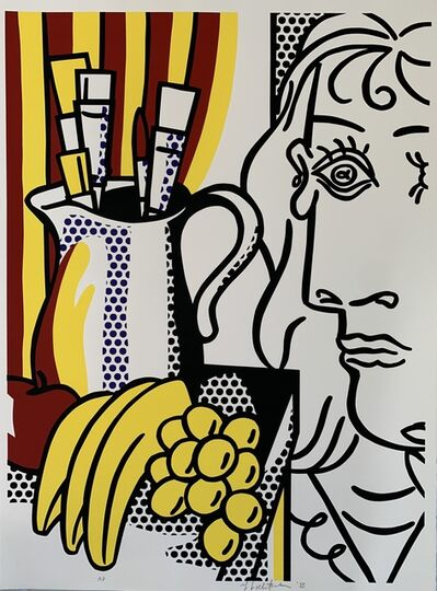 Roy Lichtenstein, 'Still life with Picasso', 1973