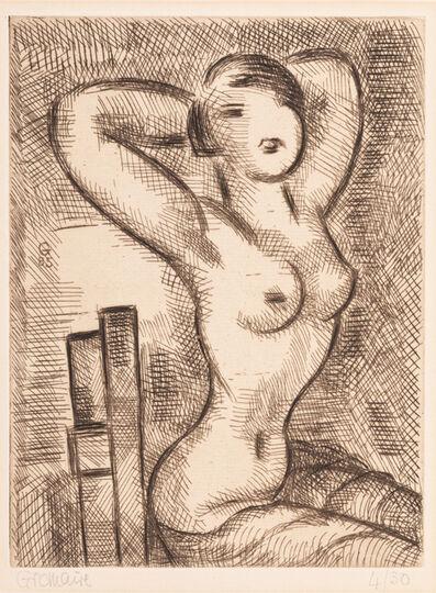 Marcel Gromaire, 'Nu, 1944 and La Jeune Russe'