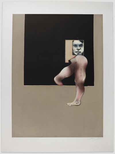 Francis Bacon, 'Triptych 1991 (right panel)', 1991