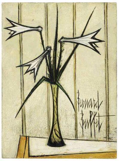 Bernard Buffet, 'Trois Lys dans un Vase', 1969