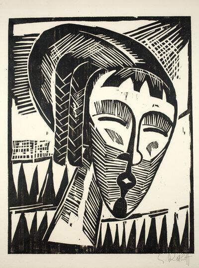 Karl Schmidt-Rottluff, 'Mädchen aus Kowno (Girl from Kowno)', 1919