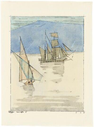 Lyonel Feininger, 'Adriasegler III', 1931