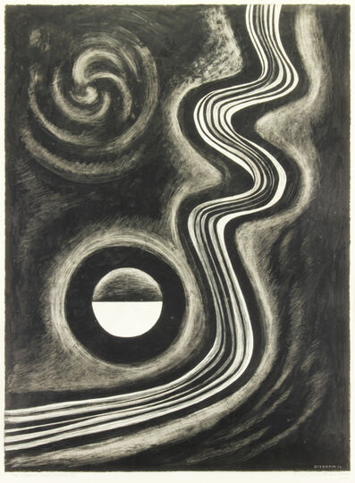 Emil Bisttram, 'Stream Into Eternity', 1952