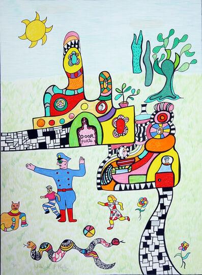 Niki de Saint Phalle, 'Le Policier (The Policeman)', 1995